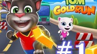 xem phim hoạt hình mèo tom rượt vàng  - review game tom gold run #1