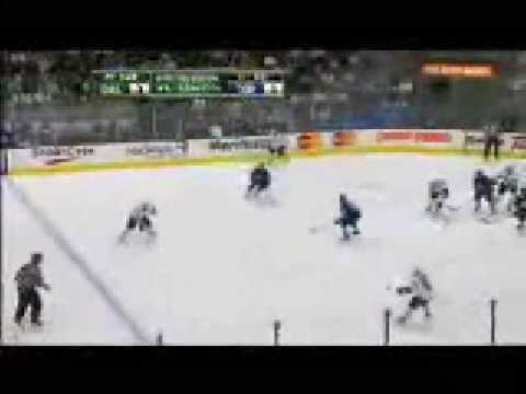 Brad Richards Goal # 9 12-23-08 Dallas Stars @ Toronto Maple Leafs