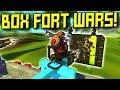 BOX FORT DESTRUCTION WARS!  - Scrap Mechanic Multiplayer Monday! Ep 93