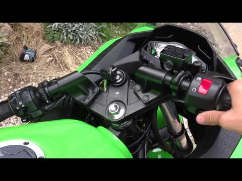 KAWASAKI NINJA 300 sound without exhaust