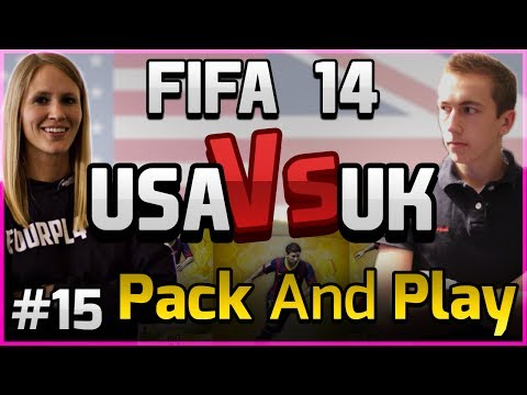 FIFA 14 -USA VS UK -PACK AND PLAY - WILL MY LUCK CHANGE | EP 15