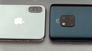Huawei Mate 20 Pro vs. Apple iPhone Xs [Deutsch]