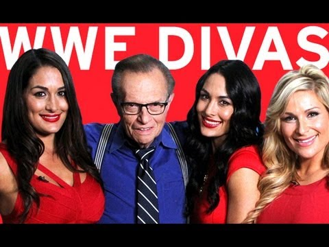 WWE Divas Interview | Larry King Now | Ora TV