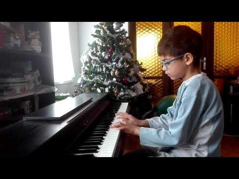 Lestyán Vilmos - Télapó itt van (zongorán)