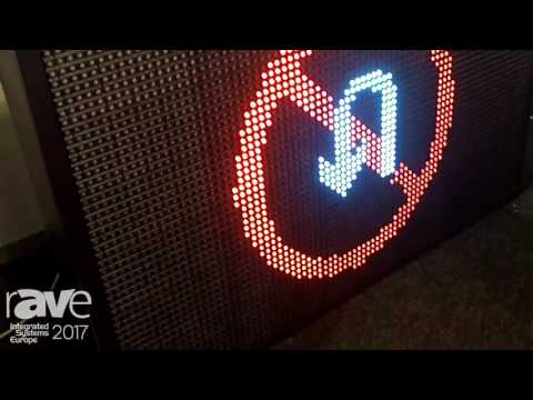 ISE 2017: DIANMING Showcases Variable Message Sign