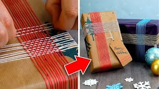 11 Creative Christmas Gift Wrapping Ideas