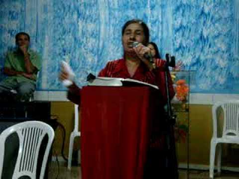 Chama de fogo Pastora Ana Cleia 3 parte pregação Ms Yomá 12 11 09 MOV04622