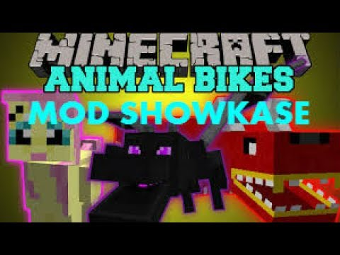 Minecraft: Mod ShowCase - Animal Bikes 1.8.9