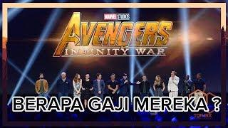 WOW !! Inilah gaji para pemeran film Avanger Infinity Wars