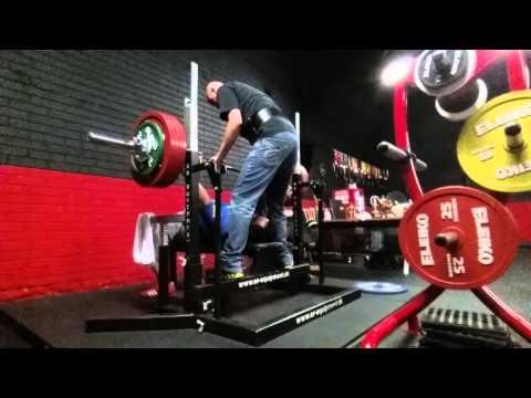 Poncho Pardo Bench press 247 5Kg
