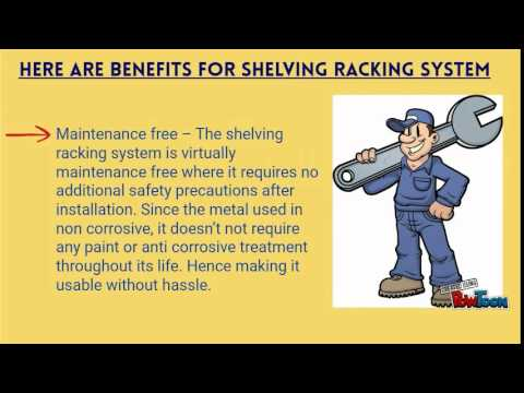 Benefits of Shelving Racking System