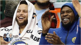 Covering the Warriors on game day is a whirlwind | Jalen & Jacoby