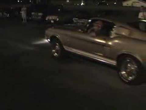 Shelby GT 500 Burnout Hot Rod Power Tour 2005 Video