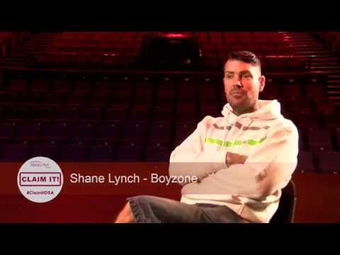 Boyzone's Shane Lynch Part 1 - Discussing his dyslexia supporting AbilityNet's #claimitdsa campaign