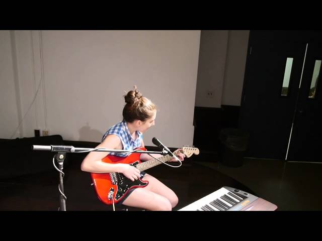 Chloe (11) plays and sings Hey There Delilah at Spring Music Recital 2014