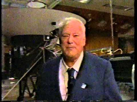 Patrick on the 9 O'Clock News in 1989.