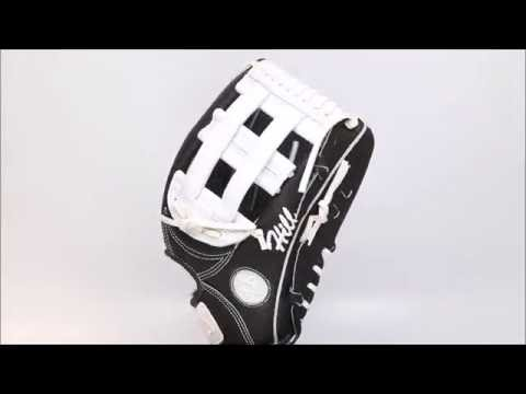 44 Pro Custom Baseball Glove Classic Series 2 ( C2 ) Black White H web
