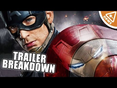 CAPTAIN AMERICA CIVIL WAR Trailer Breakdown! (Nerdist News w/ Malik Forte & Kyle Hill)