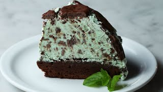 Mint Chocolate Cookie Dome • Tasty