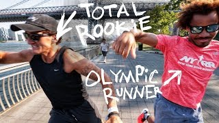 CASEY + AN OLYMPIAN GO RUNNING