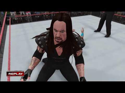 PC世界摔角娛樂WWE 2K16 - 送葬者'99(在邊緣'98)[Undertaker'99] Vs.約翰·希南[在邊緣'98] [普通規則賽] [24/11/'16]