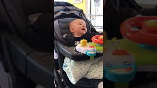 February 19, 2019 funny baby does bad cough 🤣