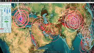 11/21/2018 -- West Coast USA VOLCANIC HOT SPOTS hit by Earthquakes + Fires -- ALERT