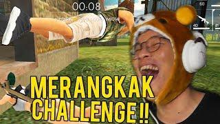 NGAKAK! MERANGKAK CHALLENGE - Free Fire : Battlegrounds Indonesia