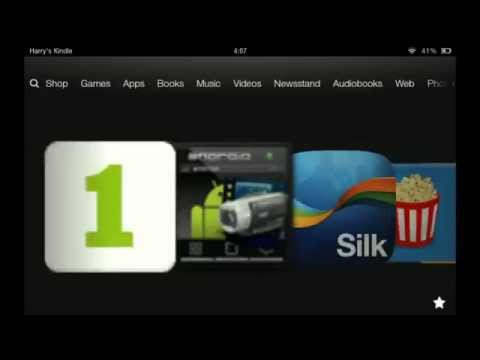 kindle fire hd | more apps tutorial | google play