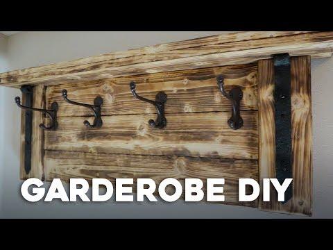 Einfach GARDEROBE selber bauen : D I Y