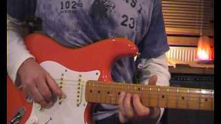 Dire Straits Eastbound Train - Riff and solo explained