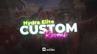 🔴PUBG MOBILE LIVE : H¥DRA ELITES! 🔥 || SEASON 2 - Week 3 - Day 4❣