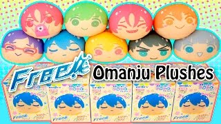 Anime Free! Omanju Plushes Series2 Blind Boxes