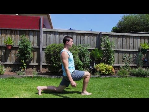 How to Walking Lunge Exercise