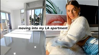 VLOG: moving into my new apartment + tour