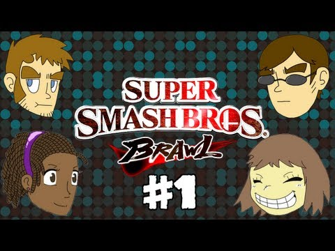Super Smash Bros. Brawl #1 - Rumble Falls & Shadow Moses Island