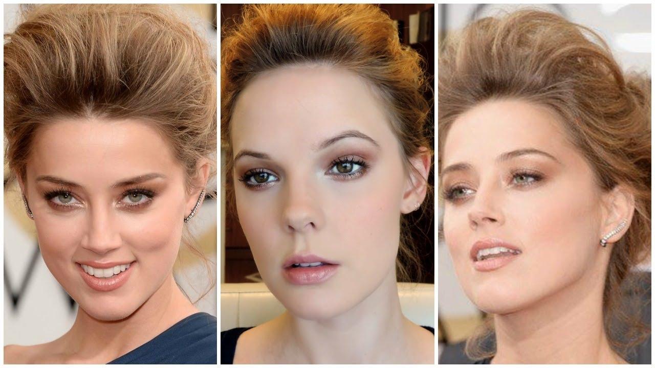 AMBER HEARD Makeup Tutorial: Golden Globes 2014