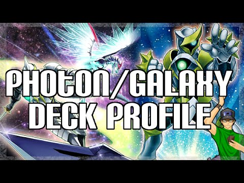Yugioh Photon Galaxy Tcg Deck Profile - April 2015 video