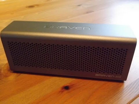 Braven 600 Bluetooth Wireless Speaker Unboxing and Review