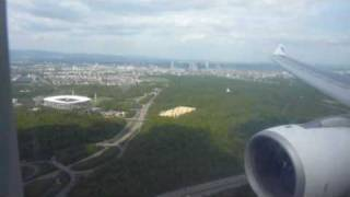 Star Alliance Airbus A330-200 from Egyptair - Landing in Frankfurt Runway25L