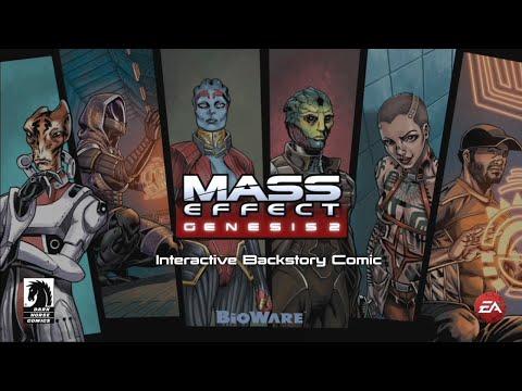 Mass Effect 3: Genesis 2 DLC: Interactive Backstory Comic