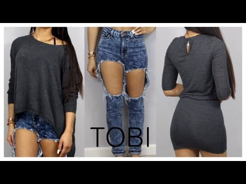 Tobi Clothing Haul & Try On!