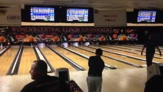 Camden rokita 299 king pin lanes central Illinois bowling