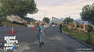 GTA 5 - LSPDFR - EPiSODE 50 - LET'S BE COPS - UNREALISTIC NAVY PATROL (GTA 5 PC POLICE MODS)