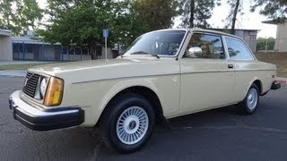 Volvo 242 Coupe 242DL Video * 1 Owner Brick * Youngtimer Classic Car Review  200 Series