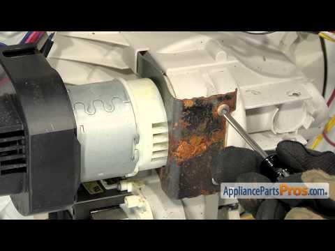 Download dishwasher circulation motor part w10757217 for Ge dishwasher motor replacement