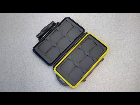 SD cards Case Review