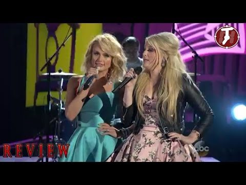 Meghan Trainor feat Miranda lambert All about that bass performance CMA Country Music Awards
