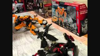 Bumblebee VS Mindwipe and Ravage In Stop Motion