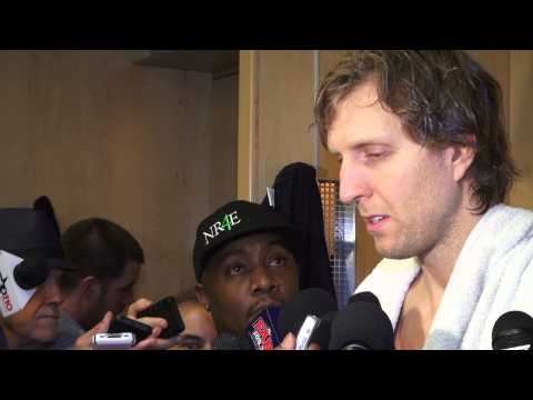 Dirk Nowitzki: Dallas Mavericks vs New Orleans Hornets Post Game Comments